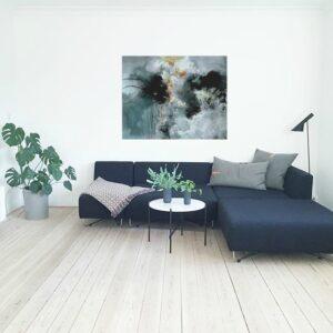 am-klug instagram og nyt gråt maleri til hjemmeside