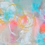 Pastel maleri Forår